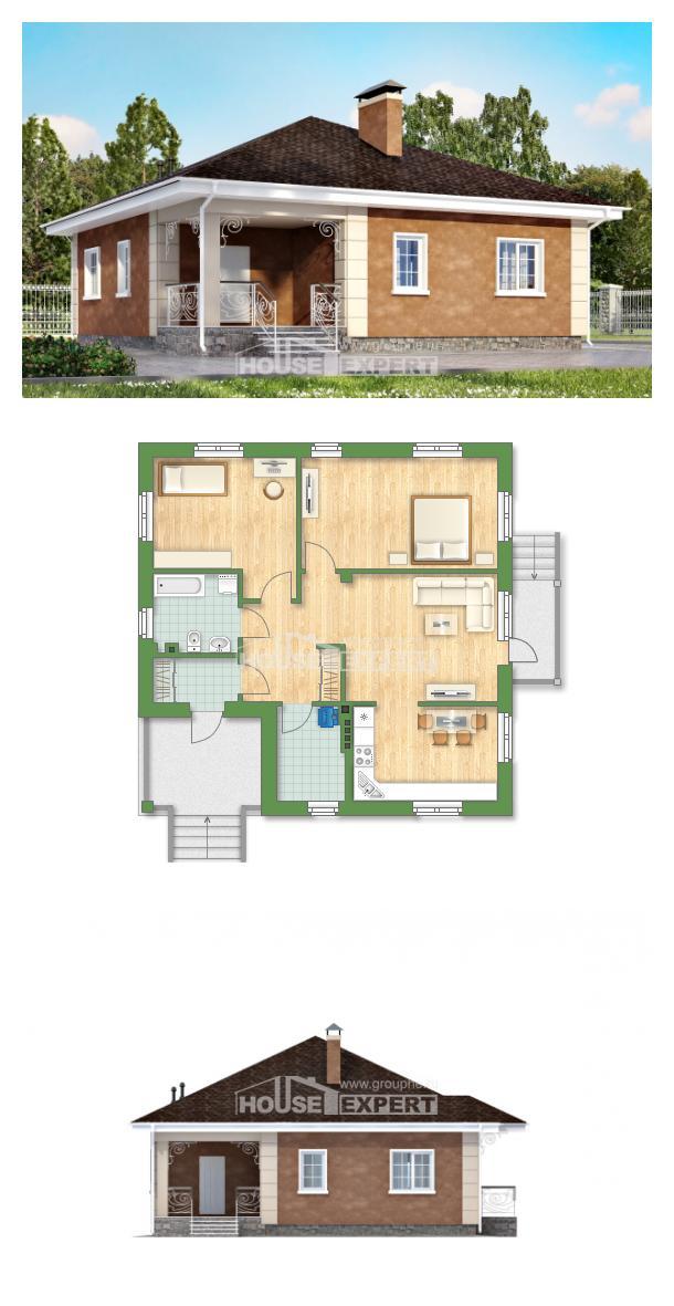 Проект дома 100-001-Л | House Expert